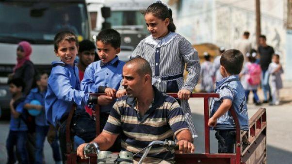 Les enfants palestiniens reprennent l'école malgré les coupes budgétaires américaines