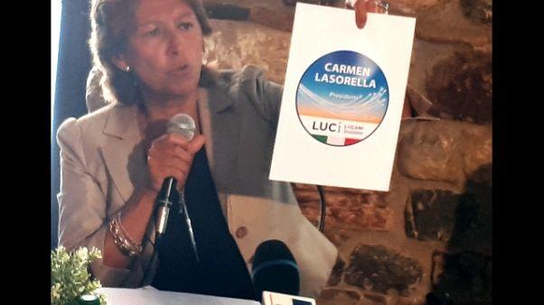 Basilicata: Lasorella candidata con Luci
