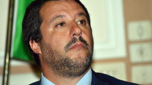 Salvini,avversario Macron? Sono francesi