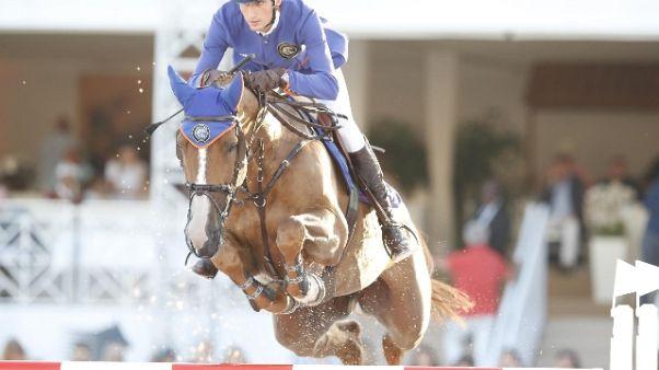 Equitazione:a Roma Global Champions Tour