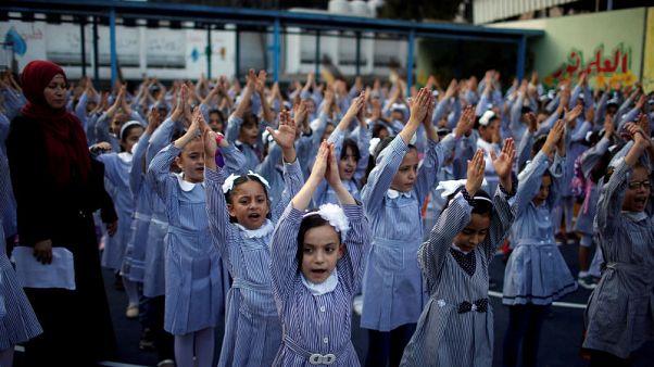 مدارس الأونروا تفتح أبوابها في الضفة وغزة رغم خفض التمويل الأمريكي