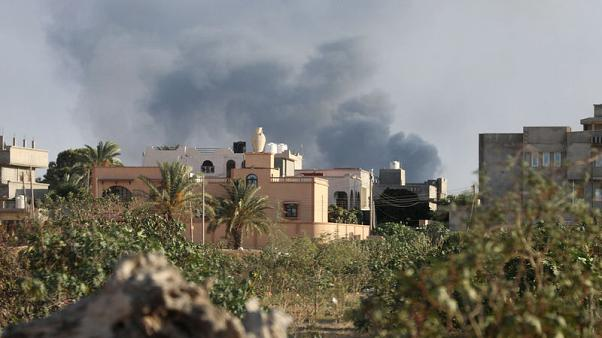 Clashes shatter illusion of security in Libyan capital