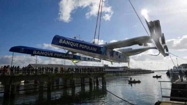 Le Cléac'h remet les voiles 4 mois après le chavirage de son bateau +volant+