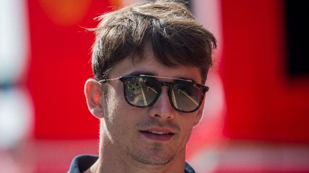 F1: Leclerc, sogno la Ferrari da bambino