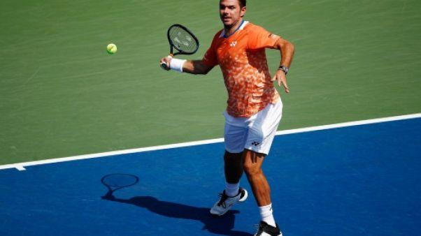 US Open: Wawrinka met fin à l'aventure de Humbert