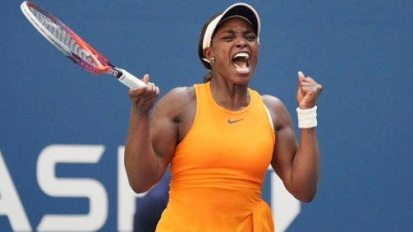 US Open: Stephens rejoint Azarenka au 3e tour après un long combat