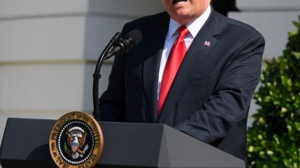 ترامب يعتقد أن أمريكا تبلي بلاء حسنا مع كوريا الشمالية