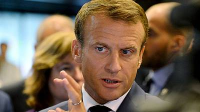 Macron rejects cronyism accusations after author gets top L.A. posting