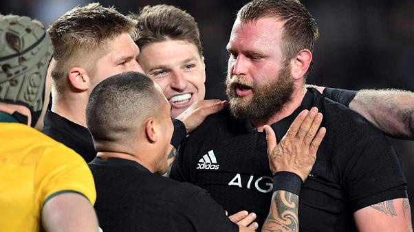 New Zealand's Moody ruled out of Rugby Championship with broken thumb