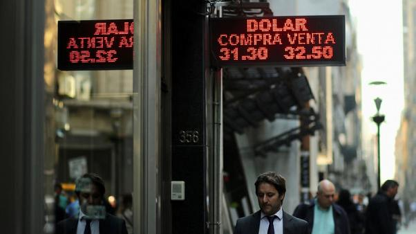 IMF studying Argentina request for early help as peso crashes