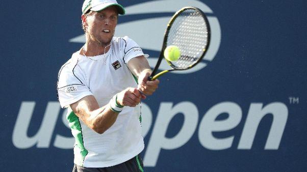 Tennis Us Open: eliminati tre italiani
