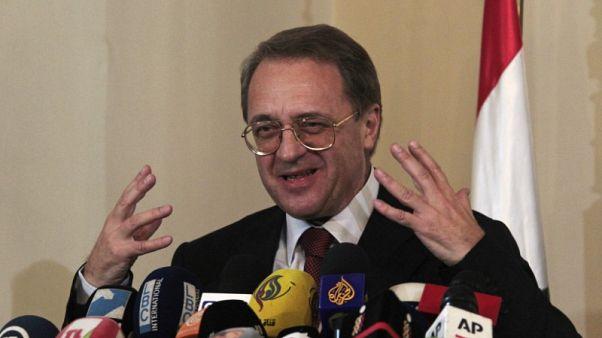 روسيا تبحث تسوية سلمية في سوريا مع رئيس هيئة التفاوض بالمعارضة