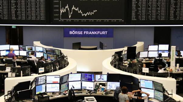 Trade fears regain grip on European shares, real estate stocks fall
