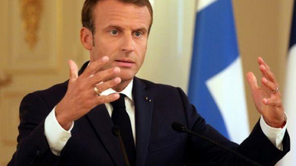 """Macron prône la """"solidarité"""" entre Etats de l'UE en cas d'attaque armée"""