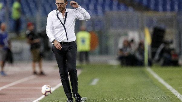 """Di Francesco: """"Milan? Da Roma risposte"""""""