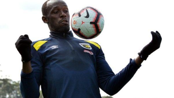 Coup de foudre en Australie: Usain Bolt en piste pour son premier match de foot