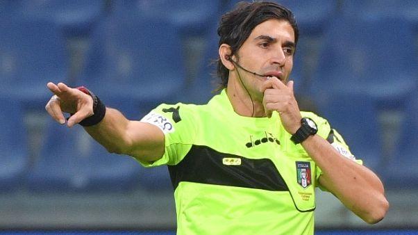Serie A: Lazio-Frosinone a Calvarese