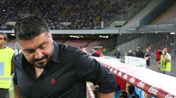 Gattuso, con Roma evitare errori Napoli