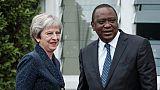 """Au Kenya, May insiste sur un """"partenariat renouvelé"""" post-Brexit"""