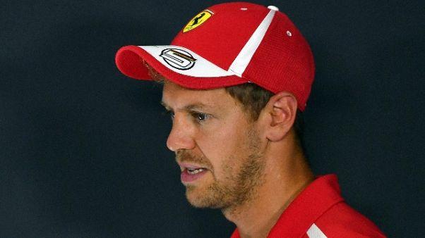 F1: Vettel, Marchionne? Guardava avanti
