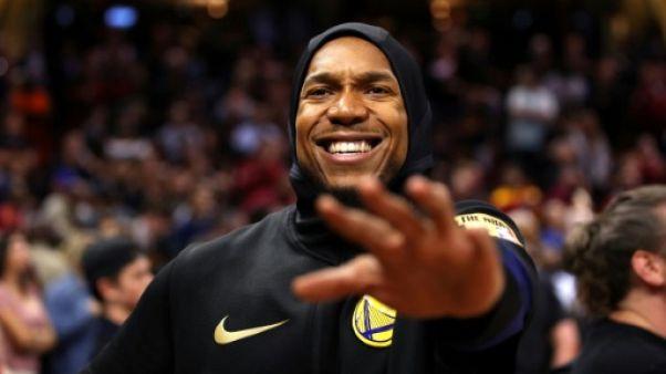 NBA: l'intérieur des Warriors David West raccroche