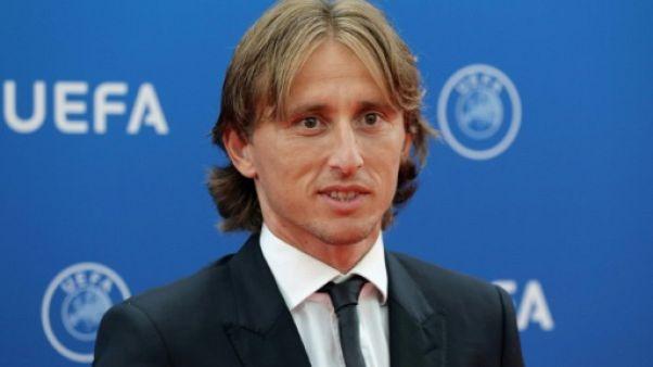 Luka Modric nommé joueur UEFA de la saison écoulée