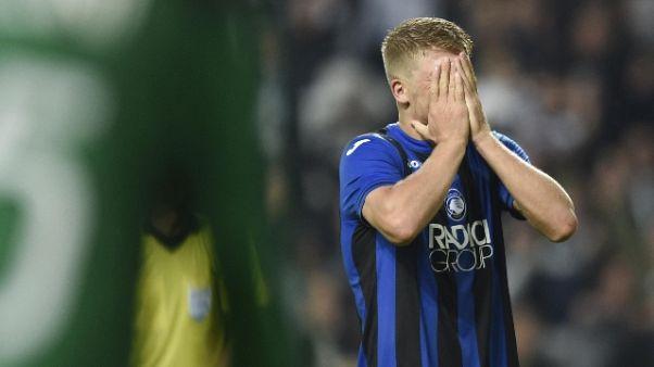 E. League: Atalanta eliminata ai rigori
