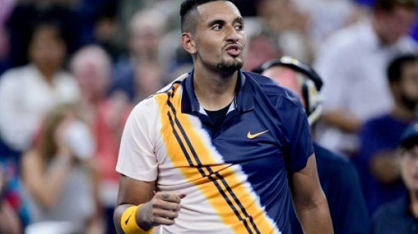 US Open: encouragé par l'arbitre, Kyrgios renverse Herbert