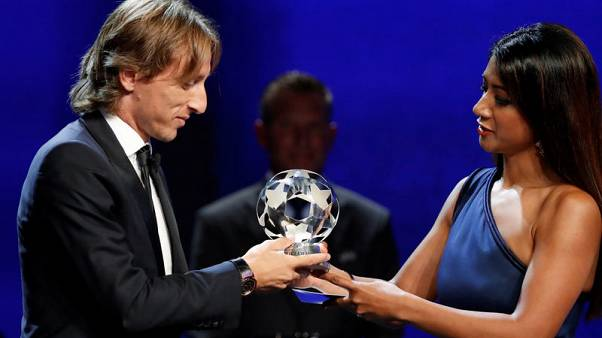 Modric voted UEFA's Player of the Year