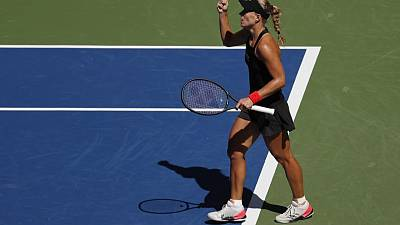 Kerber digs deep to dispatch Larsson in New York