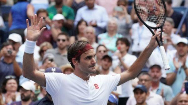 US Open: Federer éteint Paire pour aller au 3e tour