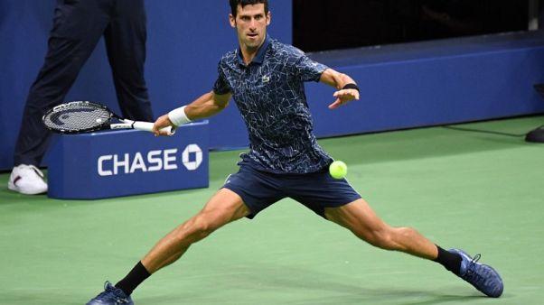 Djokovic overcomes blip to beat Sandgren at U.S. Open
