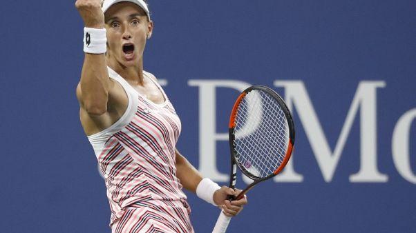 Tsurenko sends Wozniacki to another second-round exit