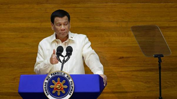 Duterte says Philippines better off run by dictator if he were not around