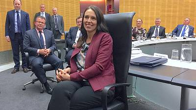 New Zealand PM Ardern has two ministers step aside