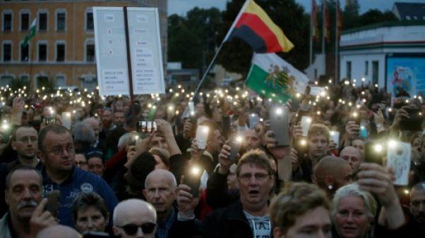 Allemagne: Chemnitz au bord de la crise de nerfs