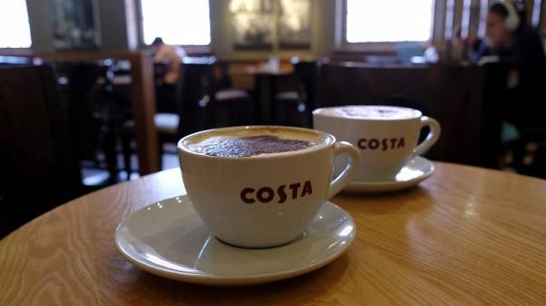 Coca-Cola takes plunge into coffee with 3.9-billion-pound Costa deal