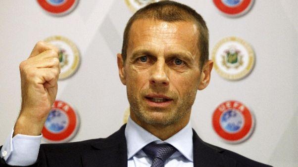 Ceferin nuova deadline Var,Supercoppa'19