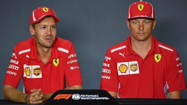F1:Monza,via prime libere sotto pioggia