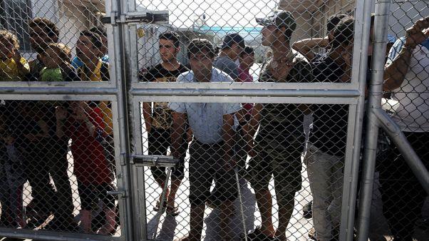 """الأمم المتحدة: الوضع عند """"نقطة الغليان"""" في مركز لاجئين باليونان"""