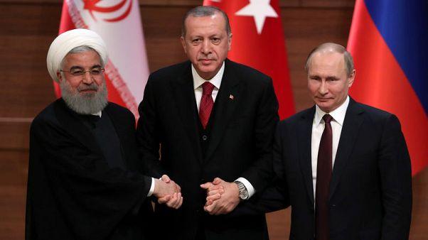 بوتين يجتمع مع نظيريه التركي والإيراني في السابع من سبتمبر