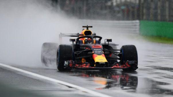F1: Ricciardo et Hülkenberg partiront en fond de grille au GP d'Italie