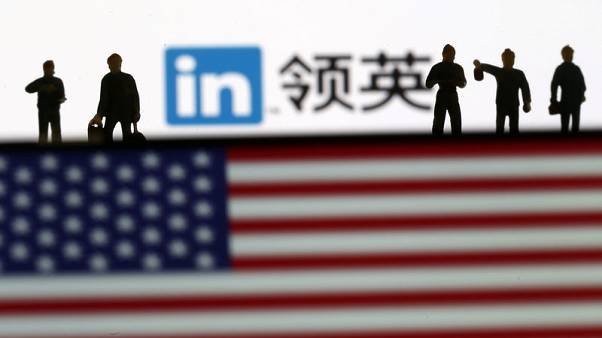 Exclusive - Chief U.S. spy catcher says China using LinkedIn to recruit Americans