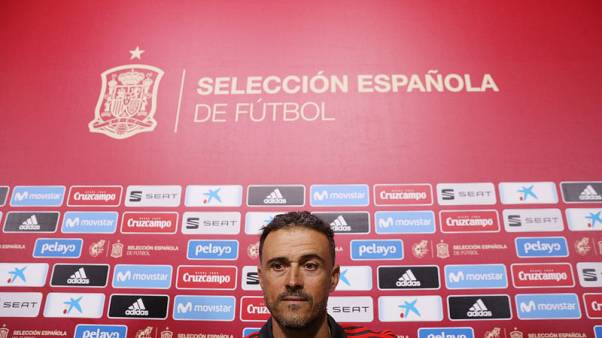 Spain boss Enrique names youthful squad for Croatia, England games