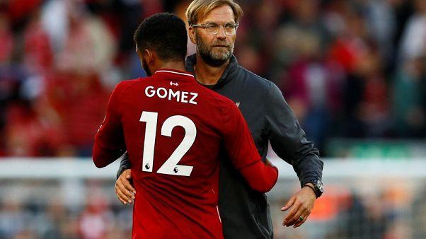 Klopp pleased with Liverpool's squad depth