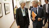 صندوق النقد الدولي يقول إنه يعمل مع الأرجنتين لتعزيز برنامج يدعمه الصندوق
