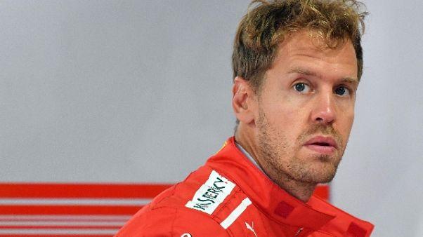 F1:Vettel,abbiamo potenza per far meglio