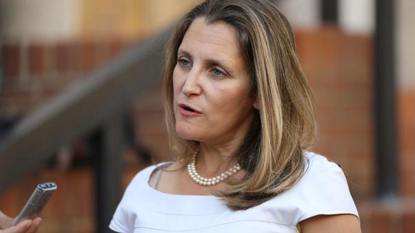 فريلاند: المفاوضون الأمريكيون والكنديون لم يتوصلوا بعد إلى اتفاق بشأن نافتا