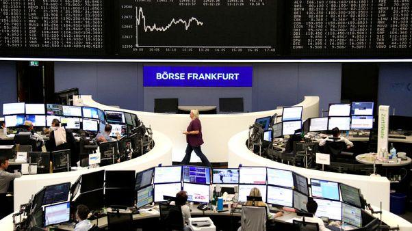 الأسهم الأوروبية تهبط مع تجدد المخاوف من حرب تجارية