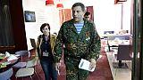 """Alexandre Zakhartchenko, ancien mécanicien, chef de guerre et """"président"""""""